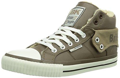 British Knights ROCO - Zapatillas de Material sintético para Mujer, Color marrón,...