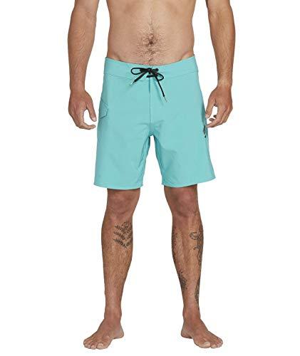 Volcom Bañador para Hombre Lido Solid Mod 18', Hombre, A0812022, Mysto Green, 29