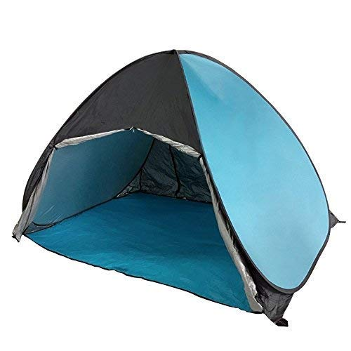 Outdoor Waterproof Tent, Beach Tent, Outdoor Automatic Tent Wild Fishing Tent Rainproof UV Protection Tent Free To Build Quickly Open Tent (Color : 7),For Beach Camping Hiking Fishing for Beach Campin