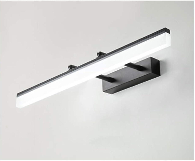 YU-H Lighting Spiegelfrontlicht, Led Einfache Moderne Badezimmer Badezimmer Make-Up Schminktisch Spiegel Licht Frei Teleskop Spezial Spiegel Kabinett Licht (Farbe   Weiß lighr-40cm)