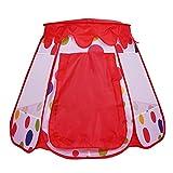 Alomejor1 Kinder Spielen Zelt Faltbares Spielhaus Spielzeug Tipi Zelt Puppenhaus Sonnenschutz für...