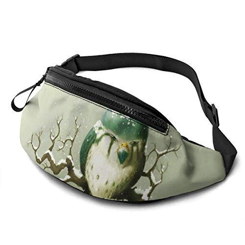 XCNGG Bolso de la Cintura del Ocio Bolso Que acampa Bolso del montañismo Waist Pack Bag for Men&Women, Digital Car Sun Utility Hip Pack Bag with Adjustable Strap for Workout Traveling Casual Running