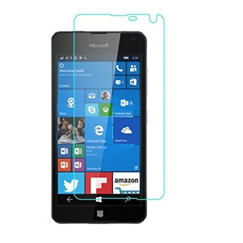 Abeera 9H Super Glossry Impossible Screen protector compatible for Nokia Lumia 650 (not a tempered glass)