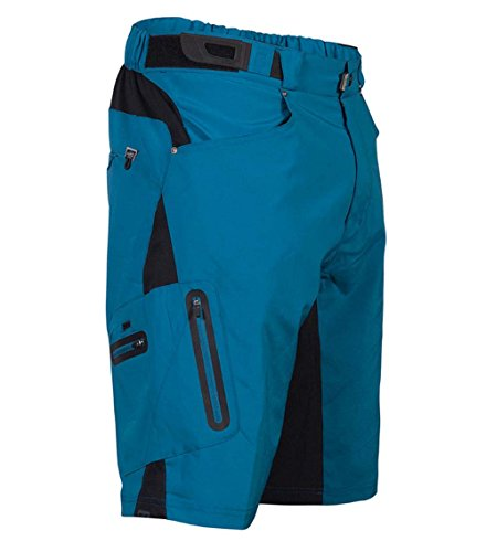 Zoic Men's Ether Mountain Bike MTB Cycle Riding Short with Padded...