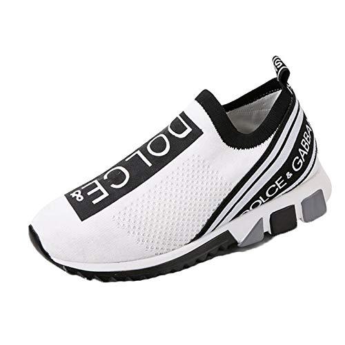 Scarpe Casual da Donna Mocassini Eleganti Senza Lacci Scarpe Sportive Antiscivolo Piatte alla Caviglia Leggere Gym Sneakers Casual comode