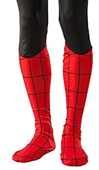 Rubie s mens Marvel Universe Adult Spiderman Boot Tops Party Supplies As Shown One Size US