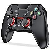 switch コントローラー DinoFire ジャイロセンサー搭載 スイッチ コントローラー TURBO機能付き プロコントローラー switchに対応 振動レベル調整可能Nintendo switch に適用proコントローラー