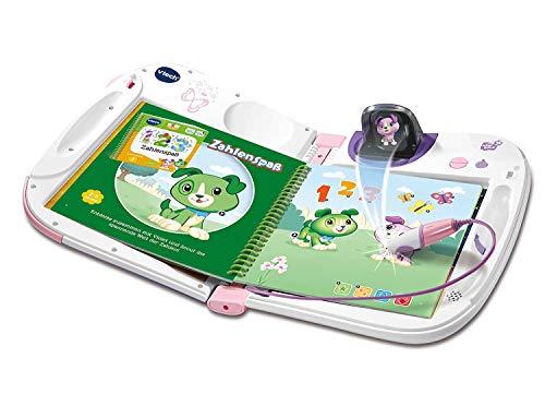 Vtech 80-603954 MagiBook 3D pink, Lernbuchsystem, Mehrfarbig
