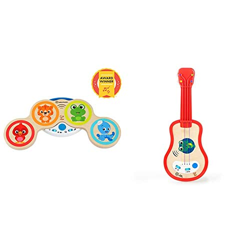 Product Image of the Award Winning Magic Touch Musical Play Set Drum & Ukulele Wooden Musical Toy