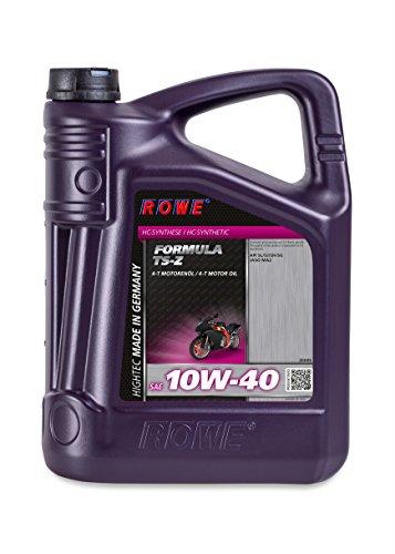 ROWE - 5 Liter HIGHTEC FORMULA SAE 10W-40 TS-Z Motorenöl - für Motorrad - vollsynthetisch (HC-Synthese)