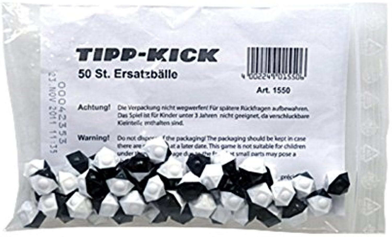 Tipp Kick 015506 - Ersatzbälle 50er, 12 eckig, schwarz - weiß B005OMYAPU Modernes Design  | Viele Sorten