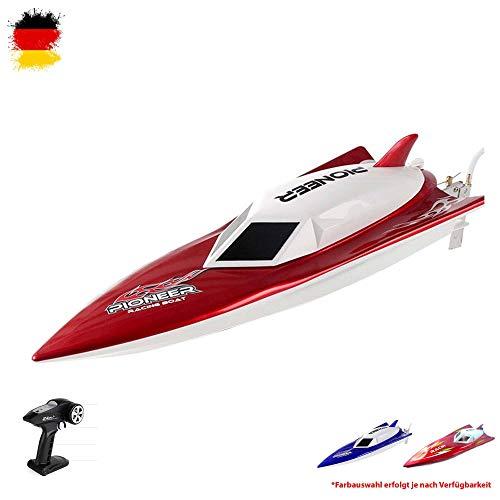 Himoto HSP 2.4GHz RC ferngesteuertes Speedboot , Top Einsteiger Modell mit Power Geschwindigkeit, 7.4V Power Akku und hohe Reichweite, Komplett-Set