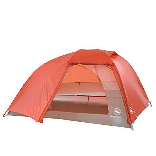 Big Agnes Unisex's Copper Spur Tent, Orange, 3 Person