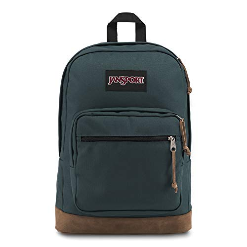 JanSport Right Pack 15 Inch Laptop Backpack - Any Occasion Daypack, Dark Slate