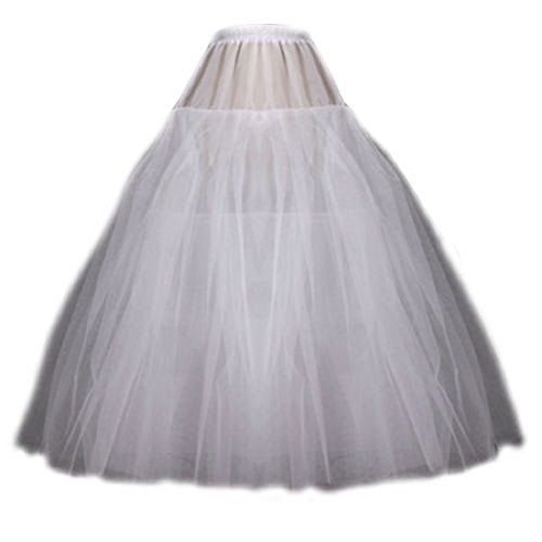Neu TÜLLROCK Petticoat 3-lagig OHNE Ringe Unterrock Klassiker Reifrock 100cm