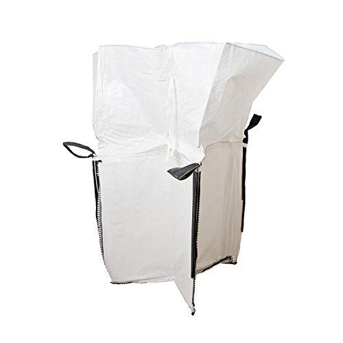 "7Penn Garden Bag, Leaf Bag – Reusable Yard Waste Bag, Garden Trash Container – Square 36"" Inch Outdoor Duffle Bag"