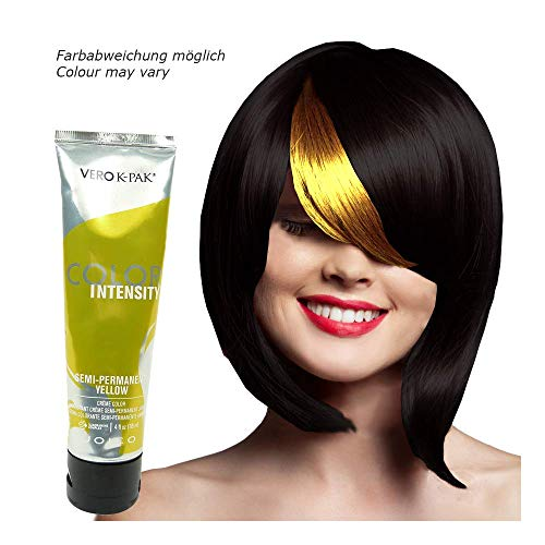 Joico Vero K-PAK Color Intensity - Semi Permanent Strähnen Haar Farbe - 118ml - Yellow/Gelb
