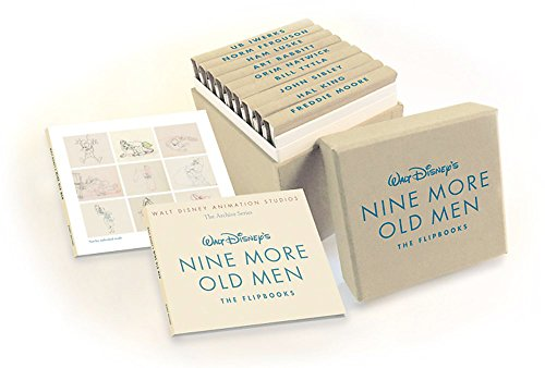 Walt Disney Animation Studios The Archive Series Walt Disney's Nine More Old Men (Nine More Old Men: The Flipbooks) (Disney Editions Deluxe)