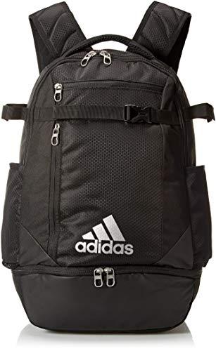 adidas Icon Baseball-/Softball-Rucksack, Unisex-Erwachsene, Tasche, Icon Baseball Backpack, schwarz, Einheitsgröße