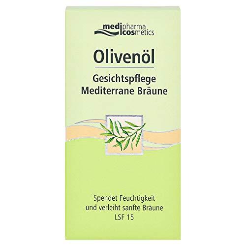 Medipharma Cosmetics Olivenöl Gesichtspflege Mediterrane Bräune 1er Pack(1 X 50 Ml
