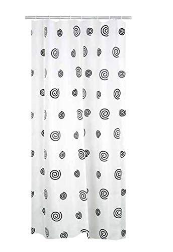 RIDDER 403130 Duschvorhang Textil ca. 180x200 cm Snail