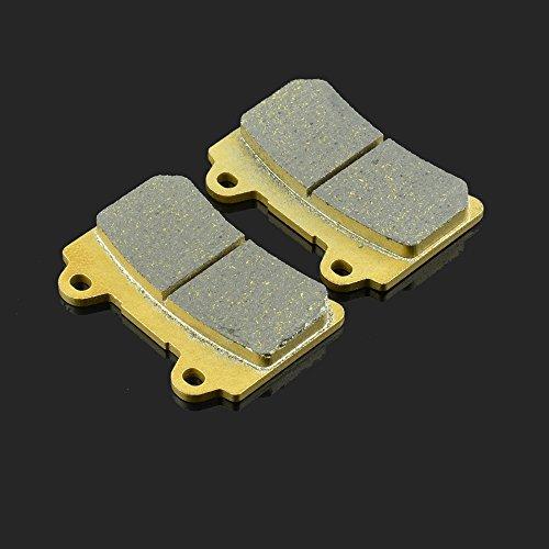 1 paire de plaquettes de frein avant 74,8 x 54 x 10 mm pour FZR 250 1987 TDR 250 88-92 XJR 1200 95-98 SRX 400 90-96 TDM 850 91-95