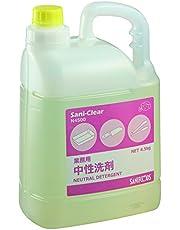 アズワン 業務用中性洗剤(サニクリア) 4.5kg×1本入 /3-5374-01