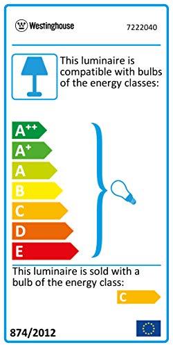 Chrom Deckenventilator mit Leuchte Bendan Bild 6*