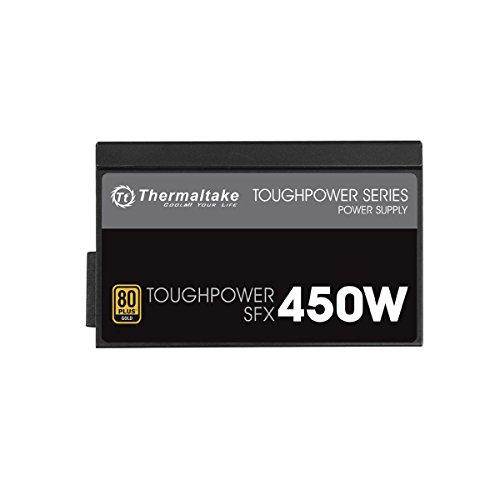 Thermaltake TOUGHPOWER SFX 450W Gold 450W SFX Black - power supply units (450 W, 100-240 V, 540 W, 50-60 Hz, 3.5-7, Active)