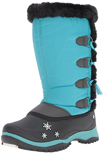 Baffin Girl's MIA Snow Boot, Teal, 10 M US Toddler