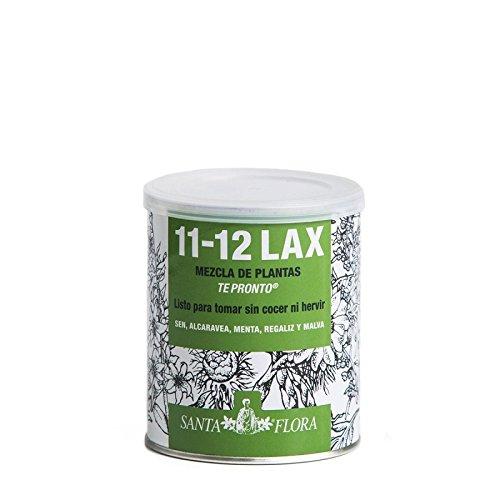 Santa Flora - nº 11-12 LAX Bote 70g con sen, alcaravea, regaliz, menta y malva