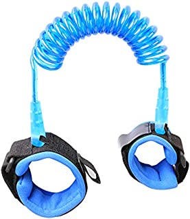 2.5m 360 degree Rotation Kids Anti Lost Wrist Safety Strap Walking Hand Belt For Toddlers (Blue) MY01