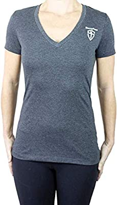 5.11 Tactical Women's StrongFirst Repeat Until Strong Shirt Charcoal, M, 42071SF