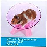 AYRSJCL Pet Hamster Rueda de Ejercicio Disco de 18 cm de diámetro...
