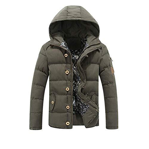Algodón con capucha los hombres del invierno cálido algodón Casual chaqueta de la ropa del chaleco Menmens Jacketmens esquí Jacketred hombres de la chaqueta de esquí Menmens Jacketslargegant for hombr