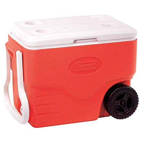 Coleman Performance 40 Quart Wheeled Cooler,