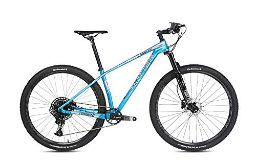YZ-YUAN Mountain Dirt Bike Bici da Strada, Mountain Bike in Carbonio 27,5 '/ 29' 12 velocità Bici Ultraleggera 11,5 kg Ingranaggi MTB Doppi Freni a Disco Mountain Bike C 29 Pollici * 15 Pollici