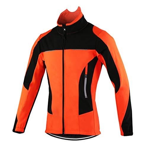 Veste Cycliste Homme Hiver VTT Velo Blouson Chaud...