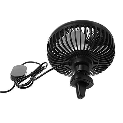 Fácil de transportar Pequeño Ventilador Universal 5V 360 grados Rotación Ajustable Aire Aire Aire Vent Aire Ventilador USB Ventilador 3 Velocidad Aire Eléctrico Soplador de refrigeración Ventilador co