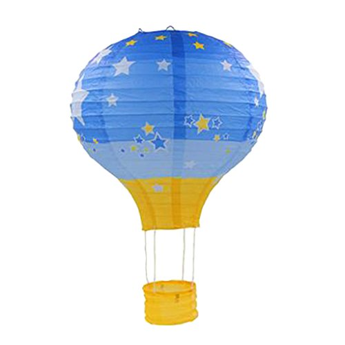 Ballon Papier Laterne Papierlampen Lampenschirm für Hochzeit Party Dekoration (12 Zoll, 30x35cm) - # 8