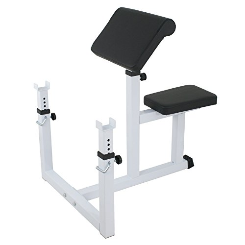 F2C Arm Curl Weight Bench Seated Preacher Isolated Dumbbell Biceps
