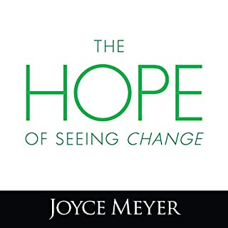 The Hope of Seeing Change audiobook cover art