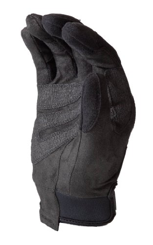 HWI Gear KTS100 Touchscreen Hard Knuckle Tactical Gloves, XX-Small, Black