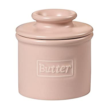 The Original Butter Bell Crock by L. Tremain, Cafe Matte Collection - Pale Sandalwood Matte