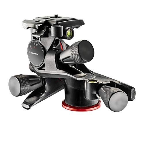 Manfrotto 3WAYギア雲台 X-PRO クイックリリースプレート付き MHXPRO-3WG