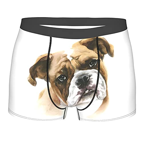 Boxer - Calzoncillos para hombre, diseño clásico, cómodo, elástico, color negro