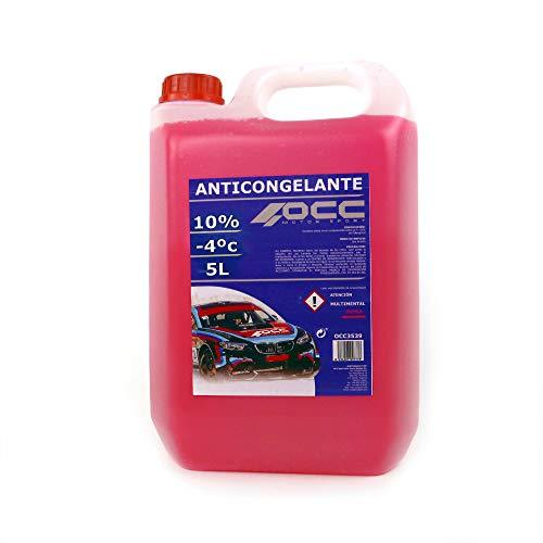 Occ Motorsport OCC3535 Anticongelante 5 l 10% Rosa