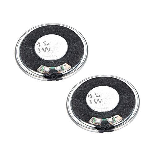 Sourcingmap - Altavoces de Audio (2 Unidades, 0,25 W, 0,5 W, 1 W, 1,5 W, 2 W, 3 W, 5 W)