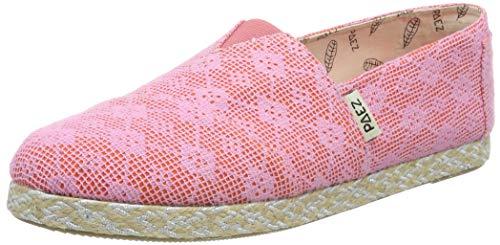 Paez Damen Classic Diamonds Mesh Espadrilles, Pink (Rosa 504), 40 EU