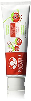 Natures Gate Toothpaste Gel 5 Ounce - Cherry for Kids